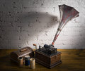Still life of Phonograph Royalty Free Stock Photo