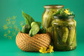Still-life with pickles Royalty Free Stock Photography