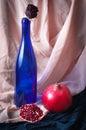 Still Life with pomegranate Royalty Free Stock Photo
