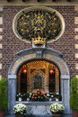 Still life of religious sanctuary of the holy mary germany from all over world there are coming people to pilgrimage site kevelaer Royalty Free Stock Photos