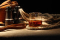 Still Life With Rum Royalty Free Stock Photo