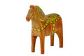 Still an old dala horse this and charming dalecarlian has nearly the same form as the modern ones originally a toy for children Royalty Free Stock Photos