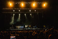 Sting in concert band live bucharest romania Royalty Free Stock Images