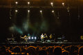 Sting live on stage in concert in bucharest romania Royalty Free Stock Photos