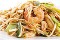 Stir-fried noodles Royalty Free Stock Image