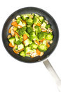Stir Fried Vegetables Royalty Free Stock Photo