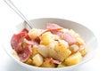 Stir fry potato Royalty Free Stock Images
