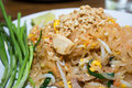 Stir thailand is the ultimate fried food of asia Royalty Free Stock Photography