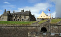 Stirling castle with great hall is the grandest of scotland s castles and one of the most popular visitor attractions in scotland Stock Photo