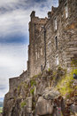Stirling castle on the mountain steep scotland Stock Photography