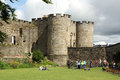 Stirling castle one of scotland s grandest castles due to its imposing position and impressive architecture commands the Royalty Free Stock Photography