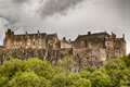 Stirling castle an overcast day in scotland Royalty Free Stock Photos