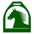 Stirrup horse sign Royalty Free Stock Images