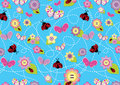 Stitch - seamless pattern2 Royalty Free Stock Image