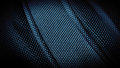 Stitched fabric texture close image Royalty Free Stock Photo