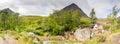 Stob Dearg panorama Royalty Free Stock Photo