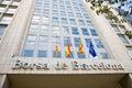 Stock Exchange, Barcelona Royalty Free Stock Photo