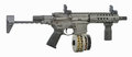 Stock Extended SBR AR15 With Drum