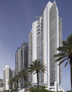 Stock image jade ocean and jade beach sunny isles march photo of condominiums were completed in with a Royalty Free Stock Photography