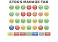 Stock manage tab Stock Images
