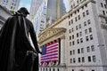 Stock Market by George Washington Royalty Free Stock Photo