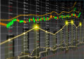Stock market theme background