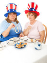 Stock Photo of Angry Tea Party Voters Stock Images