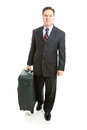 Stock Photo of Business Travel - Full body Royalty Free Stock Photo