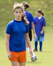 image photo : Stock Photo of a Female Soccer Player