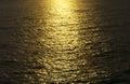 Stock photo golden sunrise seascape sea ocean beautiful sunset over blue Stock Images