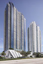 Stock photo of jade beach and jade ocean condominiums sunny isles march were completed in with a Stock Photos