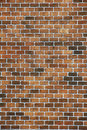 Stock photo red brick wall texture background of old vintage Stock Photo