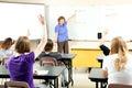 Stock Photo of Teaching Algebra Class Royalty Free Stock Photo
