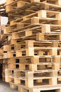 Stock wood pallet Royalty Free Stock Images