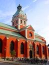 Stockholm church Royalty Free Stock Photo