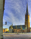 Stockholm church. Royalty Free Stock Image