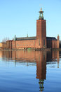Stockholm City Hall Royalty Free Stock Image