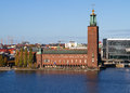 Stockholm City-hall. Stock Image