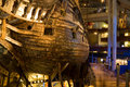 Stockholm july th century vasa warship salvaged from sea at museum in stockholm on sweden Royalty Free Stock Photography