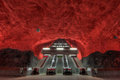 Stockholm metro Royalty Free Stock Photo