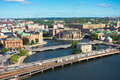 Stockholm old city sweden a view of Royalty Free Stock Photo