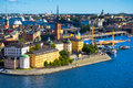 Stockholm old city sweden a view of Stock Photo