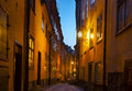 Stockholm old town photo of sweden Royalty Free Stock Photo