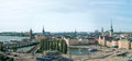 Stockholm the panoramic view sweden Royalty Free Stock Photography