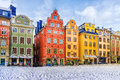 Stockholm, Sweden, Old Town Square Royalty Free Stock Photo