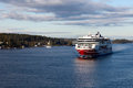 Stockholm sweden september viking line ferry float on fjords of the baltic sea paromy silja and Stock Images