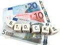 Stocks Royalty Free Stock Photo