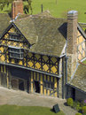 Stokesay castle Royalty Free Stock Image