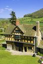 Stokesay castle Stock Photo