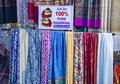 Stoles and scarves Royalty Free Stock Photo